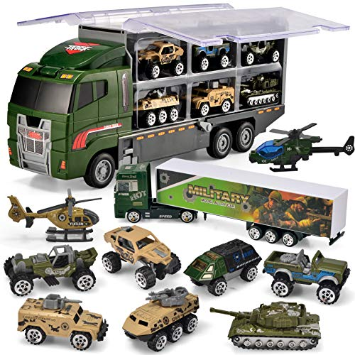 JOYIN 10 in 1 Die-cast Military ...