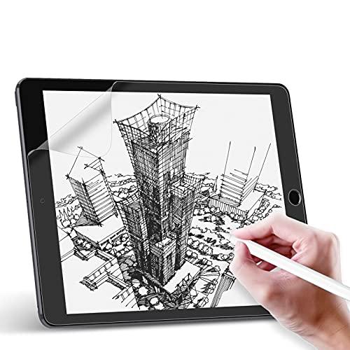 Svanee Paper-Like - Pellicola protettiva opaca per iPad 10.2 (iPad 8 iPad 7 modello 2020 2019), 2 pezzi, antiriflesso e antiriflesso, supporto penna per scrivere, disegnare e prendere appunti