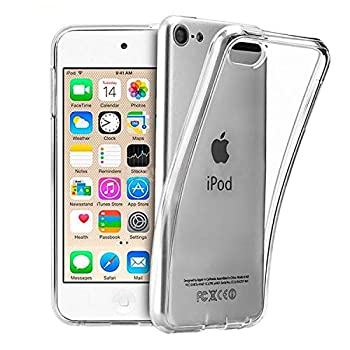 UARMOR Case for Apple iPod Touch 5 / iPod Touch 6 / iPod touch 5th 6th Generation Slim fit Crystal Clear Flexible Soft TPU Case Cover for girls Skin Case Cover