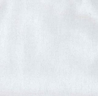A.E. Nathan SFWR-001 108in Wide Flannel White Fabric by The Yard