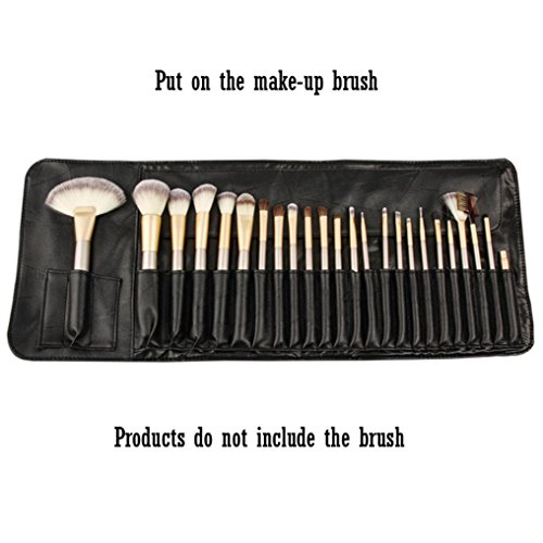 Productos de belleza de los deportes portátiles del tenedor de cepillo del maquillaje, bolso cosmético del viaje del almacenamiento del lazo