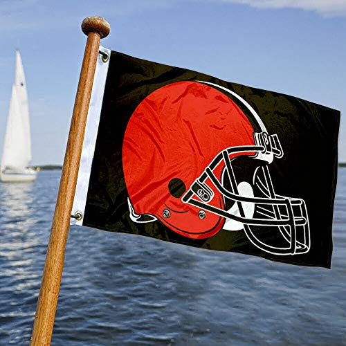 WinCraft Cleveland Browns Boat and Golf Cart Flag