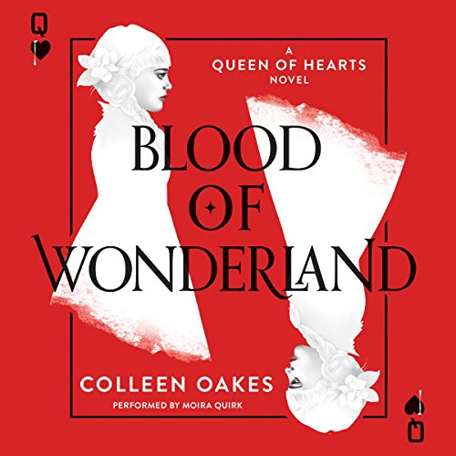 Blood of Wonderland audiobook cover art
