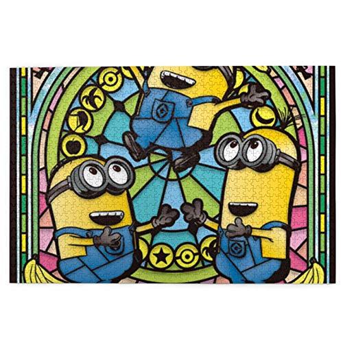 Cute Doormat Rompecabezas de 1000 piezas Minions para adultos y niños