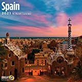 2021 Spain Wall Calendar by Br...