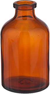 Wheaton Dwk Life Sciences 223764 50 Ml (1.7 oz) Serum Bottles 13 mm I.D. x 20 O.D. mm (Pack of 72), 50Milliliters, Degree C, Glass, Amber (Pack of 72)