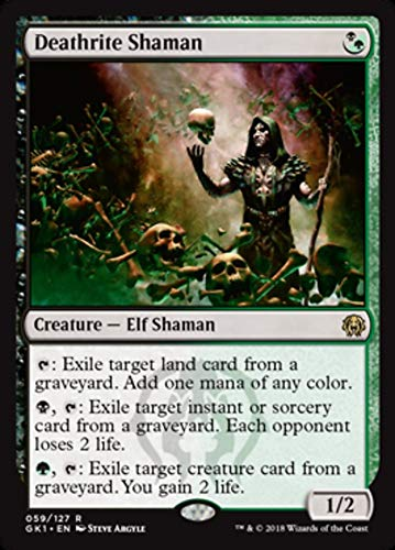 Magic: The Gathering - Deathrite Shaman - Guilds of Ravnica: Guild Kits