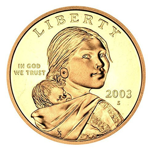 2003 S Sacagawea Native American Proof US Coin DCAM Gem Modern Dollar $1 $1 Proof DCAM US Mint