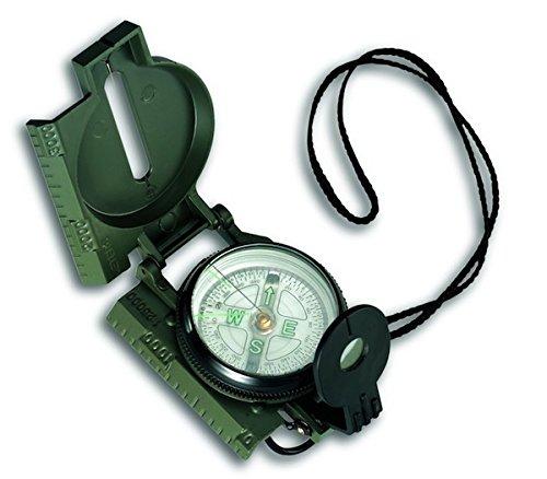 TFA Dostmann 0 42.1004 Marschkompass, Grün, (L) 58 x (B) 25 x (H) 77 mm