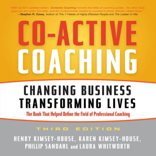 Co-Active Coaching, 3rd Edition audiobook cover art