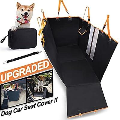Amazon - 50% Off on Dog Car Seat Cover Rear,Dog Car Rear Seat Cover Waterproof Hammock Dog