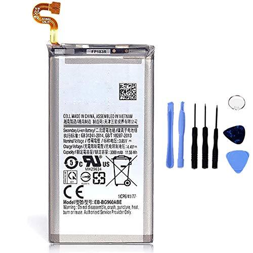 Ellenne Batería compatible con Samsung Galaxy S9 G960 EB-BG960ABE de alta capacidad 3000 mAh con kit de desmontaje incluido