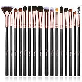 BESTOPE Eye Makeup Brush Set, 16 Pieces Professional Makeup Brushes