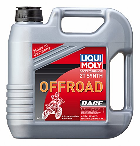 LIQUI MOLY 3064 Motorbike 2T Synth Offroad Race 4 l