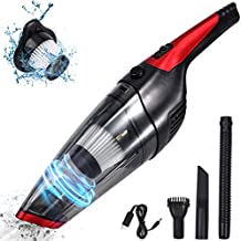 Fityou Handheld Vacuum Cleaner Cordless, Rechargeable (USB Charge), Powerful Suction Cleaner, Portable Hand Vacuum for Pet Hair Home and Car Cleaning, Wet & Dry