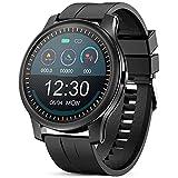GOKOO Smartwatch Uomo con Cardiofrequenzimetro Monitor del Sonno Fitness Activity Tracker Promemoria Notifica Cronometro Connessione Bluetooth Pedometro Orologio Fitness Compatibile con IOS e Android