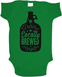 Locally Brewed Baby One Piece or Toddler T-Shirt