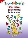 LernSpielZwerge - Mein dicker Zahlenblock für die Vorschule