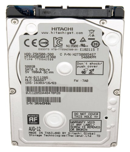 Acer Original Laptop Hard Drive/HDD for TravelMate P243-MG Series 2.5Inches 500GB SATA II