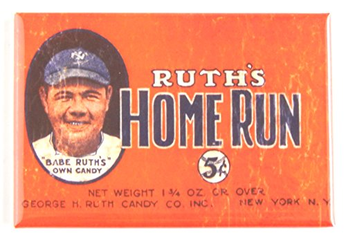 Babe Ruth Candy Wrapper Fridge Magnet (2 x 3 inches)