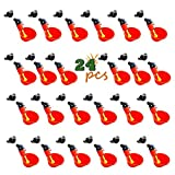 erduoduo 24PCS Poultry Drinking Watering Cups for Chicken/Quail Water Cups Drinker Automatic Farm