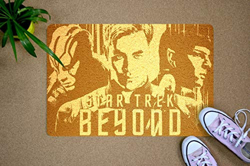 Star Trek Beyond - Felpudo con diseño de Star Trek Beyond