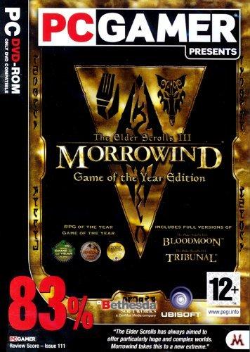 The Elder Scrolls III: Morrowind - Game of the Year Edition (PC DVD) [Edizione: Regno Unito]