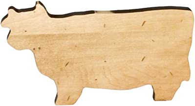 product image for J.K. Adams Cow Novelty Serving Board, Mini, Maple