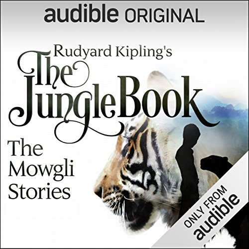 The Jungle Book: The Mowgli Stories cover art, a tiger on a white background