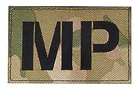[ ワッペン屋Dongri ] ベルクロ ワッペン パッチ Military Police MP ミリタリー サバゲー A0462 (マルチカム)