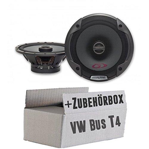 Alpine SPG-17C2-2-Wege Koax Lautsprecher - Einbauset für VW Bus T4 Front - JUST SOUND best choice for caraudio