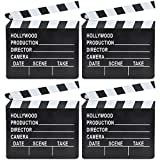 Movie Clapboard Hollywood Movie Film Theme Party Decorations, Academy Awards 7'x 8' (4-Pack)