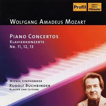 Mozart: Piano Concerto Nos. 11-13
