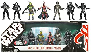 Star Wars 30th Anniversary - Republic Elite Forces Mandalorians and Omega Squad Multi-Pack 3.75
