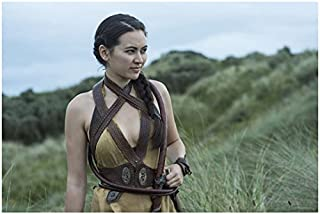 Game of Thrones Jessica Henwick as Nymeria Sand Standing in Grass Field 8 x 10 inch photo