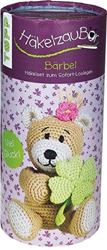 HäkelzauBÄR Set Bärbel: Anleitung und Material für ein bezauberndes Bärenmädchen