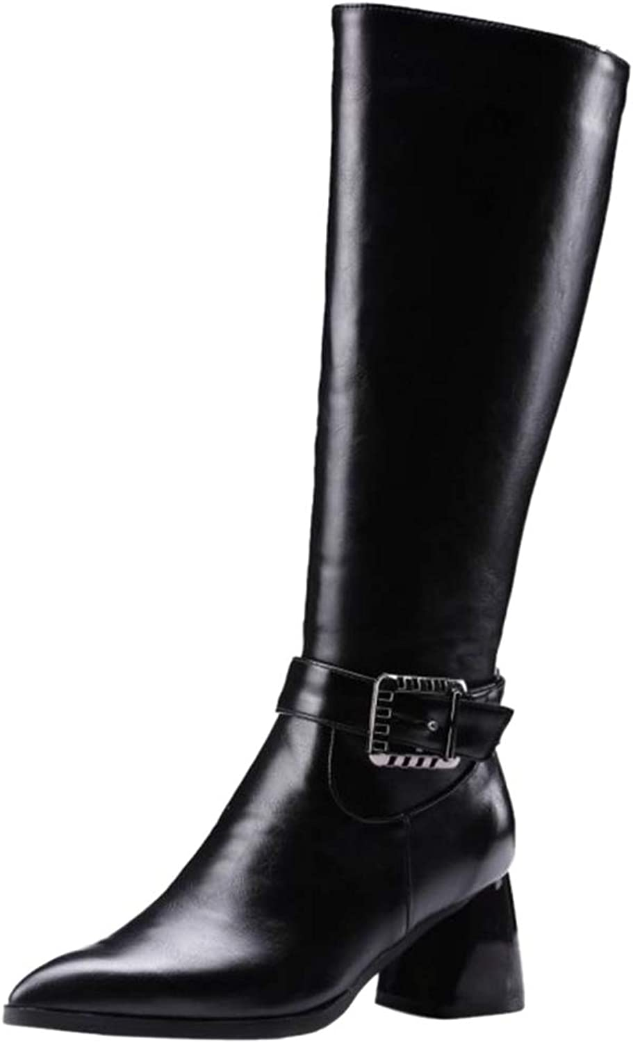 AicciAizzi Women Pointed Toe Long Boots Party