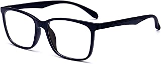 ANRRI Blue Light Blocking Glasses, Anti Eyestrain UV Filter Lens Lightweight Frame Computer Game Eyeglasses, Men/Women