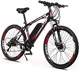 Bicicletas Eléctricas, 26' bicicleta eléctrica for adultos, Bicicletas 250W eléctrico urbano for adultos Electric Bike Montaña / Electric Bike de trayecto, con extraíble 36V 10Ah de la batería ,Bicicl