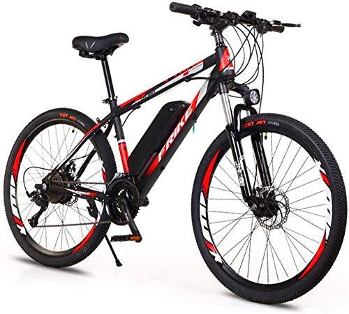 RDJM Bciclette Elettriche 26' Bici elettrica for Adulti, Biciclette 250W Urbano elettrici for Adulti Elettrico Mountain Bike/pendolarismo Bici elettrica con Rimovibile 36V 10Ah Batteria