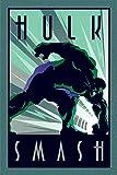 Marvel Comics Drucken, Holz, Mehrfarbig, 61 x 91.5cm
