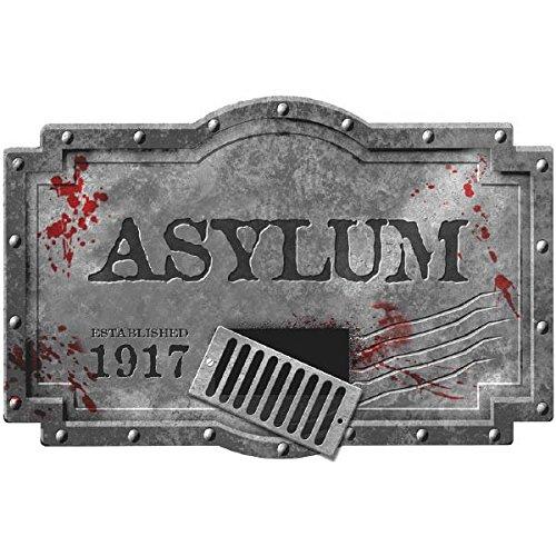 Amscan International 483 283,3 cm 3d Sign Asylum kit de décoration\