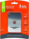 S.O.L. Survive Outdoors Longer Rescue Flash Mirror, 0140-1003