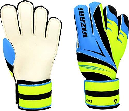 Vizari Avio F.R.F Glove, Blue/Green, Size 7