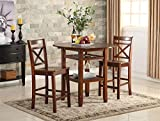 ACME Furniture 72535 Tartys Counter Height Table, Cherry...