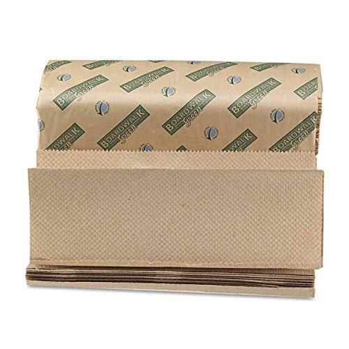 Green Folded Towels, Multi-Fold, Natural, 9 1/8W x 9 1/2L, 200/Pack, 20/Carton