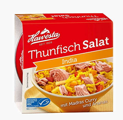 Hawesta Thunfischsalat India, 9er Pack (9 x 160 g)