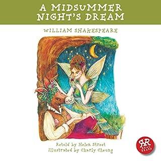 A Midsummer Night's Dream audiobook cover art