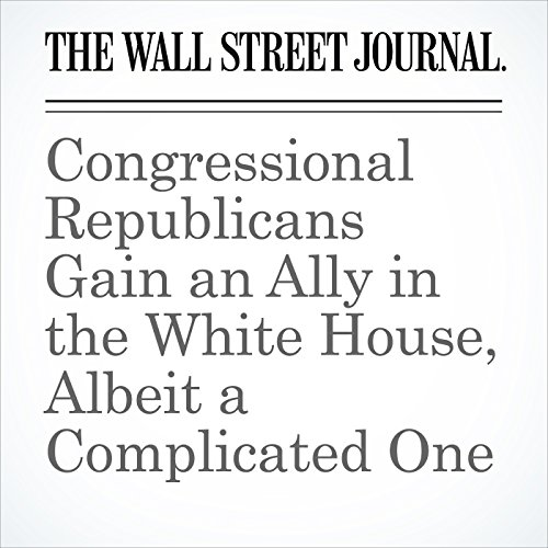 Congressional Republicans Gain an Ally in the White House, Albeit a Complicated One copertina