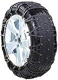 Wangcong Cadenas de Nieve universales para automóviles, fáciles de Montar, tendones de Engrosamiento de Cadenas de Nieve para neumáticos de automóviles, TPU para automóviles Todoterreno, 175 6